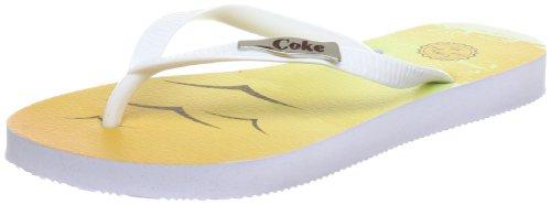 Coca Blanc Cc0183 Cola Femme white Sandales AqrgAwz1