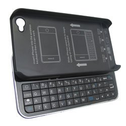 Wireless Slide Out Keyboard Case For IPhone 4 Bluetooth