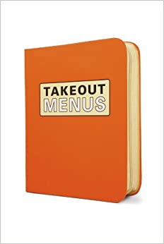 Book Takeout Menu Organizer