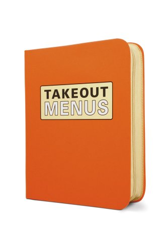 Takeout Menu Organizer by Knock Knock