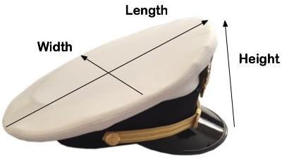 Small HatPak Pilot Uniform Hat and Cap Travel Carrying Case