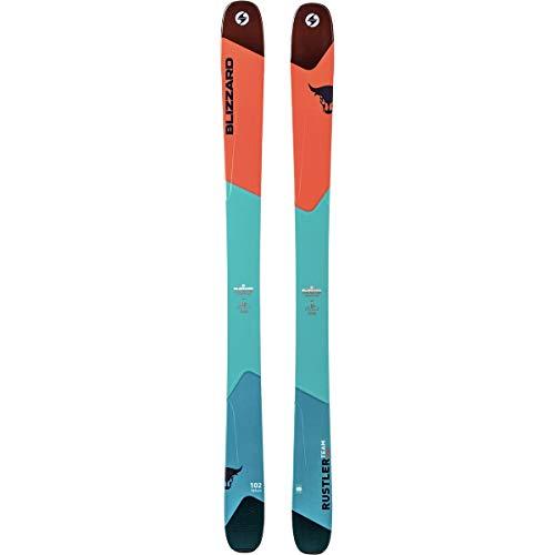 Blizzard Rustler Team Pro Ski - Kids' Light Blue/Orange, 164cm