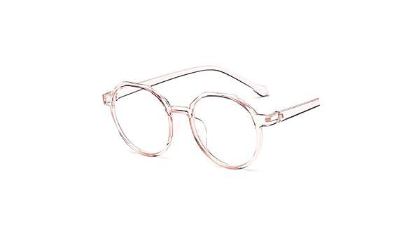 a68f230f8e YMTP Gafas Ópticas Marco De Mujer Retro Redondo Transparente Miopía Marcos  De Anteojos Hombres Vintage Lectura Gafas Lente Limpia: Amazon.es: Hogar