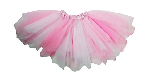 Dress Up Dreams Boutique Pink & White Fluffy Dance Tutu