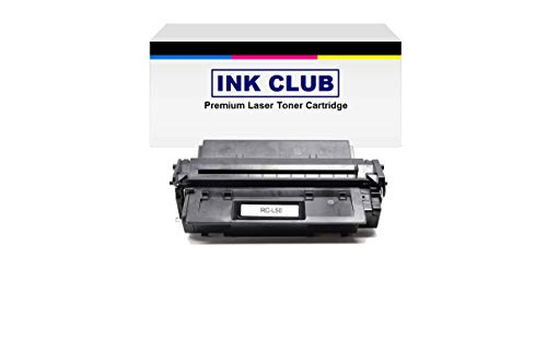 InkClub Replacement Black Toner Cartridge Compatible With Canon 6812A001AA, L50