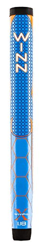 Winn Excel WinnProX 1.18'' Putter Grip - Blue/Orange - 54 Grams - 18241 by Pride