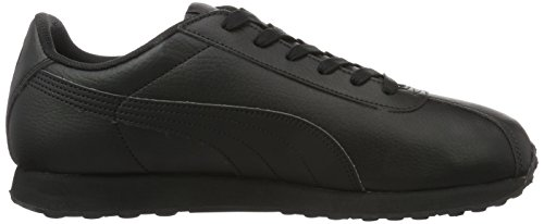 Puma Herren Turin Low-Top Schwarz  (Black-Black 06)