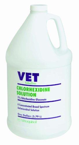 Vetoquinol 411412 Chlorhexidine Solution,Gal
