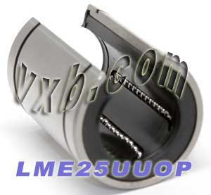 25mm Open Bearing/Bushing Linear Motion