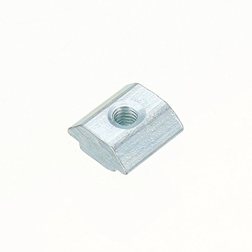 von Faway 50 T-Gleitmuttern mit M3-Schlitz f/ür das 2020-Profil aus Aluminium
