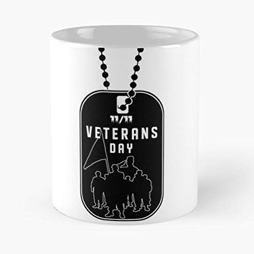 Dog Tag Soldier Veterans Army - Best Gift Ceramic Coffee Mugs 11 Oz