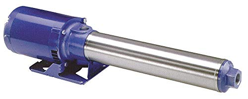 120/240VAC Open Dripproof Multi-Stage Booster Pump, 10-Stage, 1