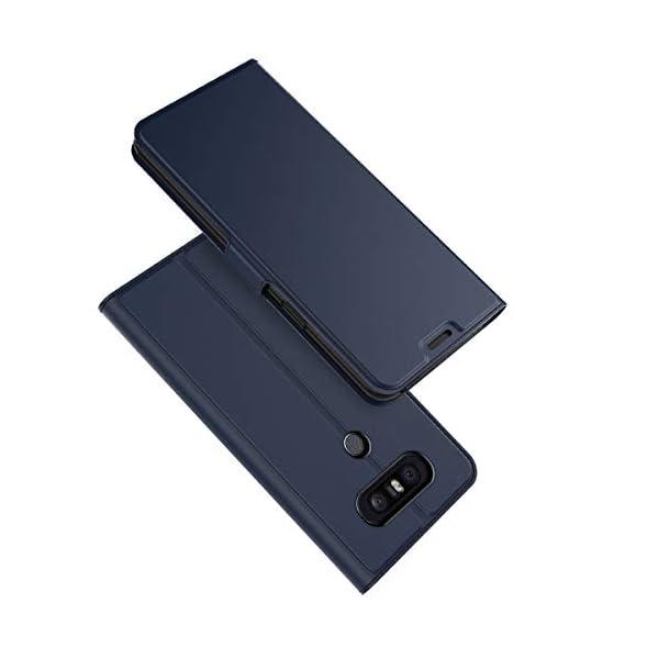 Ultra Sottile Custodia in PU Pelle Anti-Graffio Blu Radoo Cover