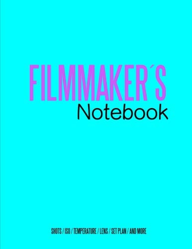 - Filmmakers Notebook (Special edition): Cinema Notebooks for Cinema Artists