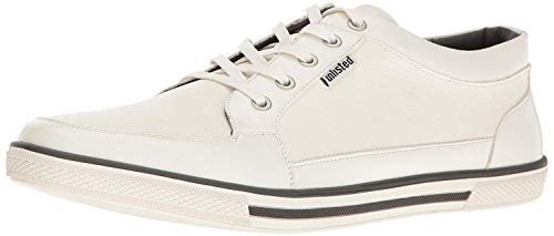 Kenneth Cole Unlisted Men's Crown Prince Fashion Sneaker, White, 11 M US (White Shoes Unlisted)
