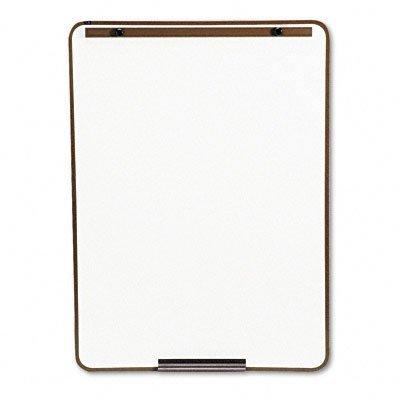 Quartet 21E-7 Quartet Oval Dry-Erase Board, 29 x 40, Metallic Bronze Finish Steel, Framed by (Oval Dry Erase Board)