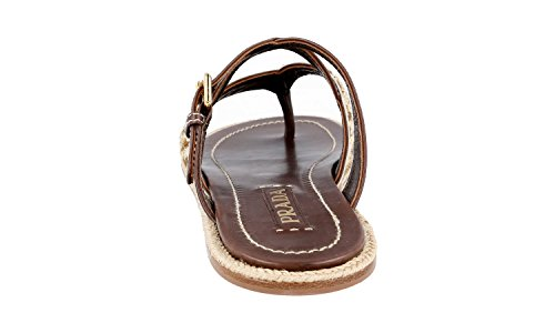 Leather Prada Leather 1Y180D Prada Women's 1Y180D 1Y180D Sandals Women's Prada Women's Sandals Leather FtqwxAYI