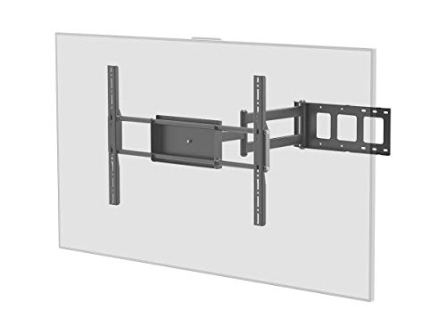Monoprice Corner Friendly Full-Motion Articulating TV Wall Mount Bracket - for TVs 37in to 70in Max Weight 110lbs Extension Range of 5.5in to 28.3in VESA Patterns Up to 700x500