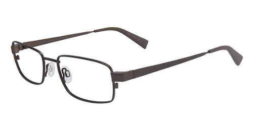 Flexon Flx 889Mag-Set Eyeglasses 237 Mat Bark Demo 53 18 140 ()