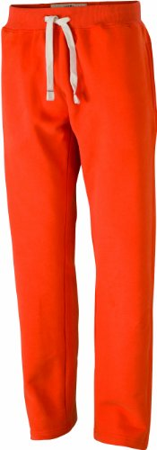 Nicholson Uomo Arancione Men's dark Pantaloni amp; Pants Vintage Sporthose Sportivi James orange 8w7aW