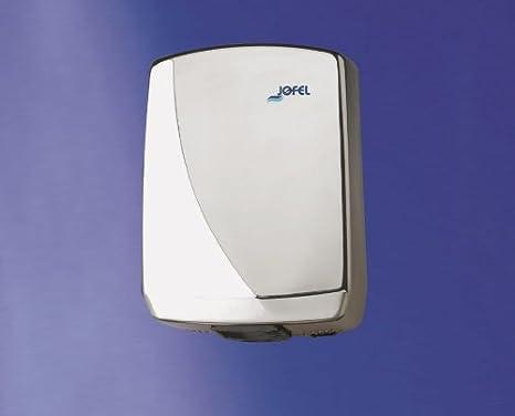 Jofel Futura secador de manos con sensor de infrarrojos acero inoxidable 2000 vatios Automatic Start: Amazon.es: Salud y cuidado personal