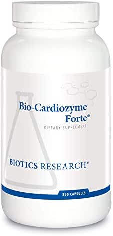 Biotics Research Bio-Cardiozyme Forte®– Healthy Heart Multivitamin. Broad-Spectrum Formulation Designed to Support Cardiovascular Health and Function. Powerful antioxidant Support 360 Caps
