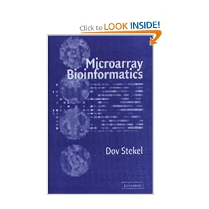 Microarray Bioinformatics Dov Stekel