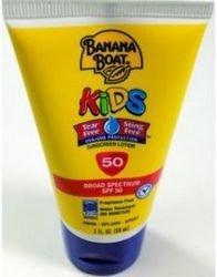 Banana Boat - Banana Boat Kids Tear Free Sunscreen Lotion SPF50 (1 pack of 12 items)