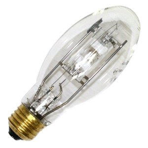 SYLVANIA 64866 - 150 Watt - E17 - METALARC POWERBALL - Pulse Start - Metal Halide - Unprotected Arc Tube - 3000K - Medium Base - ANSI C102/E - Universal Burn - MC150/U/MED/830 ()