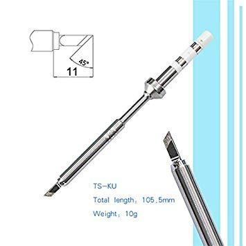 Sellify Soldadura TS100 con B2 Tip Smart LCD Soldador Eléctrico USB Mini Calefactor Inteligente Reemplazo Numerical