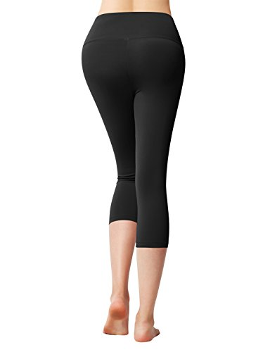 e7e3998477 ACTICLO Plus Size Women s Tummy Control Sports Running Yoga Workout Leggings  Pants Hidden Pocket (XS