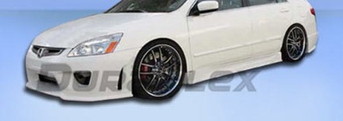 Duraflex Replacement for 2003-2007 Honda Accord 4DR Sigma Side Skirts Rocker Panels - 2 Piece