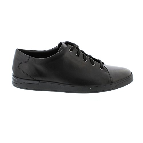 Clarks Stanway Lace, Abarcas para Hombre Negro (Black Leather)