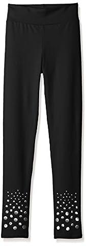 Capezio Big Girls (7-16) Shoshanna Legging, Black, Large (10-12)