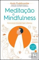 Book cover from Meditação e Mindfulness (Portuguese Edition) by Andy Puddicombe