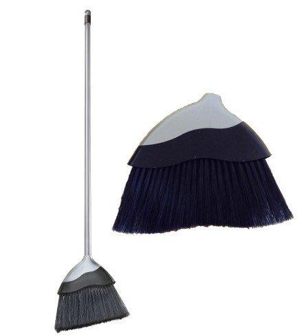 Amazon Indoor Sweeping Brush Soft Angled Brush Grey Corn Broom