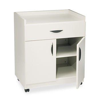 # 1852GR NoPart: 1852GR Safco 1852GR Mobile Laminator Stand w/Drawer, Shelf, 30 x 20-1...