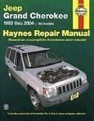 Jeep Grand Cherokee 1993 - 2004 Haynes Repair Manual