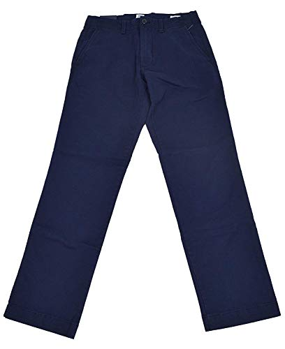 (GAP Men Khakis Straight Fit Navy Blue GapFlex (33x32) )