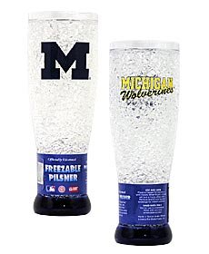 - Michigan Wolverines Crystal Pilsner Glass