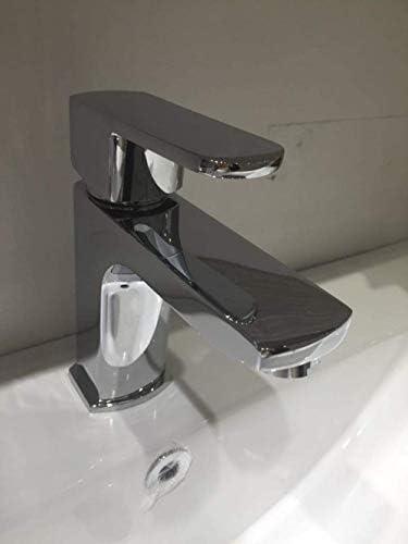 Gulakey バスルームのシンクは、スロット付き浴室の洗面台のシンクホットコールドタップミキサー流域の真鍮シンクミキサータップ非震とう浴室蛇口ホットとコールド流域の蛇口洗面台の蛇口洗面台の特別タップ
