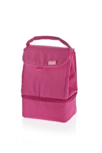 Polar Gear Everyday 2 Compartmnent Cooler, Pink by Polar Gear
