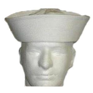 Military Surplus Usn Sailor Hat, White, 7.75, H4611775