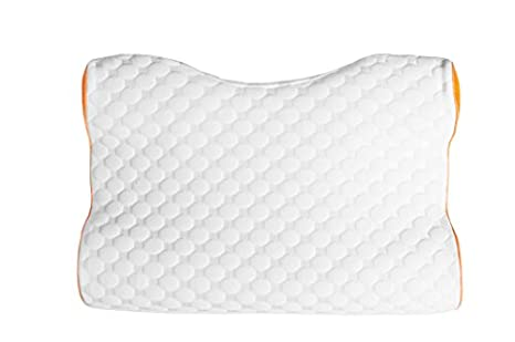 glideaway sleep harmony revolution tech pillows legend contoured cpap pillow with charcoal infused memory foam and