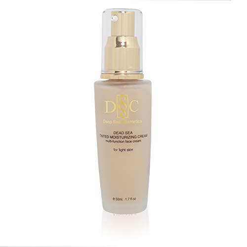 Deep Sea Cosmetics   Tinted Moisturizing Cream For Light Skin
