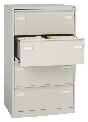 Bisley archivador para carpetas colgantes - dos filas con cajones - gris claro - Armario Armario de oficina armario metálico armario para carpetas colgantes ...