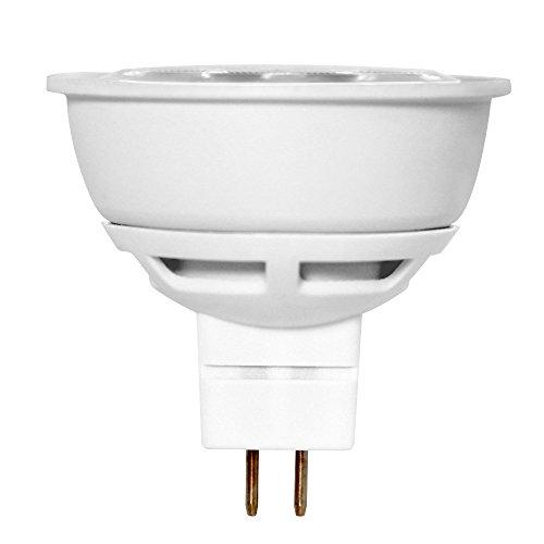 Euri Lighting EM16-2000ew LED MR16 Bulb, MCOB Line, Soft White 3000K, Dimmable, 6.5W (50W Equivalent), 500 lm, 38 Degree Beam Angle, GU5.3 Base, UL & Energy Star Listed