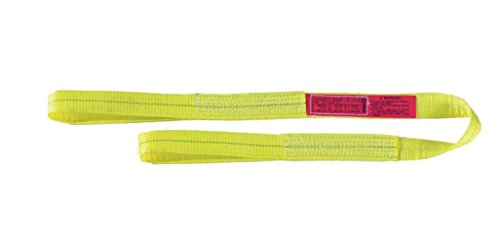 Liftall-EE2603DFX12-Polyester-Web-Sling-2-ply-Eye-and-Eye-Flat-Eye-3-Width-x-12-Length