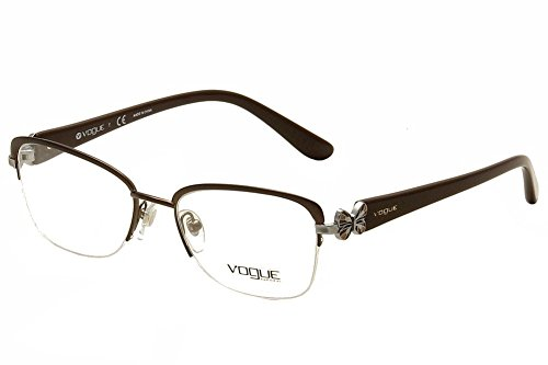 Vogue Eyeglasses VO3966 934S Matte Brushed Brown 51 18 - 51 Eyeglasses Size