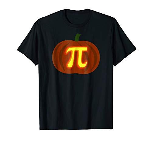Mens Funny Halloween and Thanksgiving Pumpkin Pi Math Shirt XL -